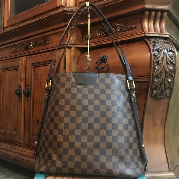 7d2867a468f3 Louis Vuitton Handbags - Louis Vuitton Cabas Rivington GM Damier Ebene
